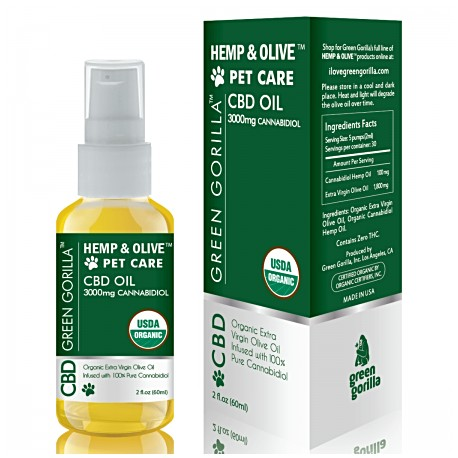 CBD Oil For Pets 3000 mg 2 OZ