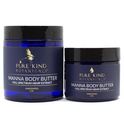 Pure Kind Botanicals Manna Hemp CBD Body Butter 4 oz