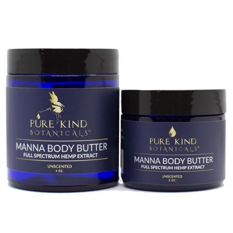 Manna CBD Body Butter 4 oz