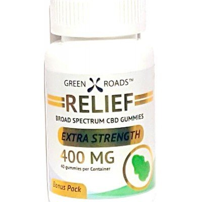 Green Roads Broad Spectrum CBD Gummy Bears 400mg