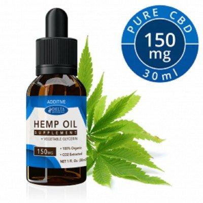 Delta Botanicals Hemp Oil 150mg Additive