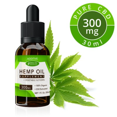 Delta Botanical Hemp Oil 300mg Additive