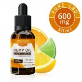 Delta Botanicals Hemp Oil 600 mg Citrus Fruit