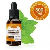 Delta Botanicals Hemp Oil 600 mg Peppermint