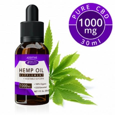 Delta Botanicals Hemp Oil 1000 mg Additive