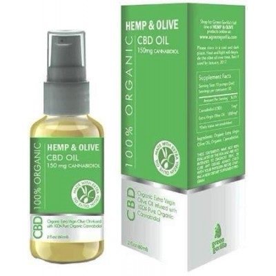 Green Gorilla Hemp CBD Oil Unflavored 150mg 2 OZ