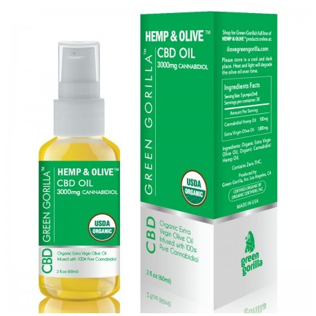 CBD Oil Unflavored 3000 mg 2 OZ