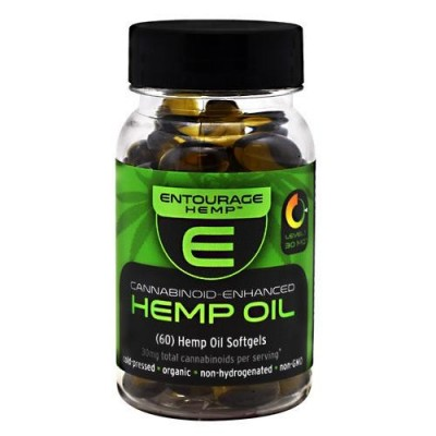 Entourage Hemp Cannoid Oil Softgels