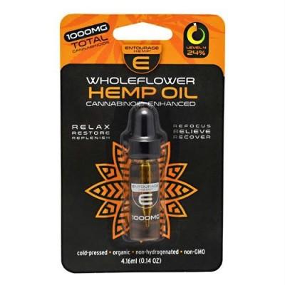 Cannoid Entourage Hemp Wholeflower Hemp Oil