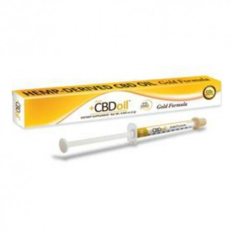 CBD Dosing Applicator Gold 1 GM