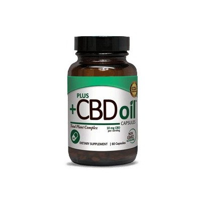 Plus CBD Oil Capsules 10 mg 60 CAP
