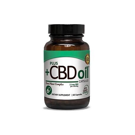 CBD Oil Capsules 15 mg 60 CAP