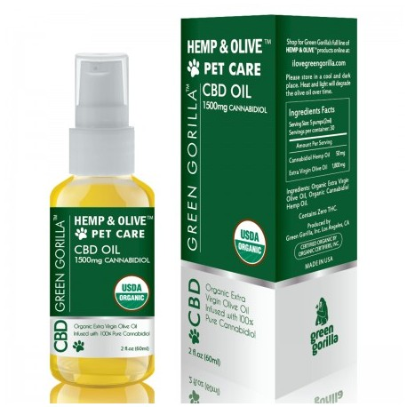 CBD Oil For Pets 1500 mg 2 OZ