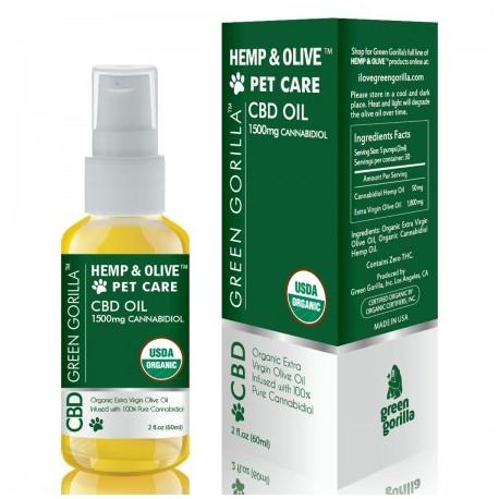 CBD Oil For Pets 1500 mg 2 OZ